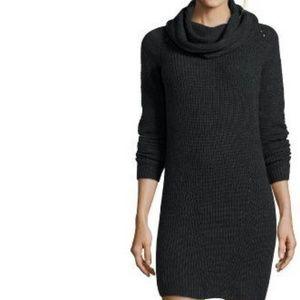 NWT Hayden Cashmere Sweater Cowl Neck Dress $415